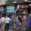 Stock Photo: Slum in India