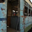 Rusty Tram in Kolkata — Stock Photo