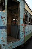 Rusty Tram in Kolkata — Stock Photo