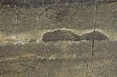 Fractured rural rock — Stock Photo
