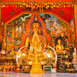 Buddhist temple located in a temple in Thailand — Stock Photo