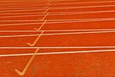 Track run — Stock Photo