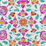 Flower tiles — Stock Photo