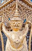 Garuda catch two Phaya Naga in claw — Stock Photo
