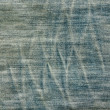 Traces on a pair of jeans background texture — Stock Photo