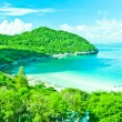 Stock Photo: Beach on island in Thailand