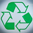 Photos recycling symbol — Foto de Stock