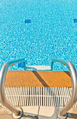 Small waves in the pool — Stock Photo