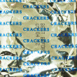 Bags, crackers — Stock Photo