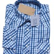 The shirt is blue — Stock Photo #10156846