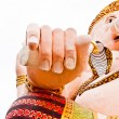 Ganesha's hand - Stock Photo