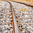 Royalty-Free Stock Photo: Rails made of steel for railway wheels