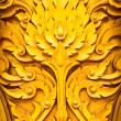 Thai style pattern design handcraft on wood — Stock Photo #10165064