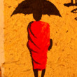 Stock Photo: Buddhist umbrella