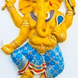 ganesh is the god of india — Stock Photo