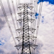 High-voltage towers — Stock Photo