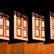 Wooden windows — Foto Stock