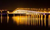 橋の夜 — ストック写真