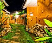 Turuncu ev — Stok fotoğraf