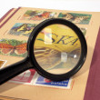 Philately - Stock Photo