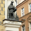 Poznan - Jan Baptysta Quadro sculpture — Stock Photo