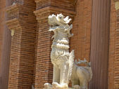 Lion sculpter — Stock Photo