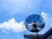 Antenna & Dish — Stock Photo