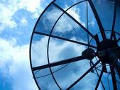 Antenn maträtt — Stockfoto