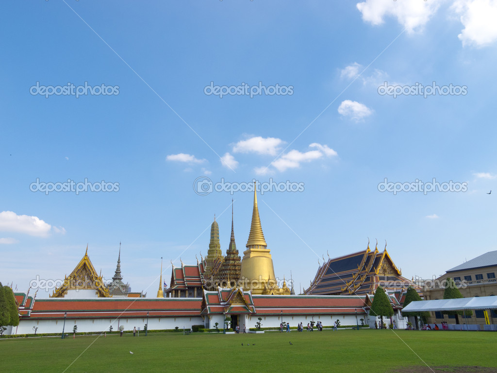 The Grand palace in Bangkok, Thailand — Stock Photo #8330620