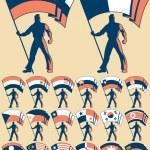 Постер, плакат: Flag Bearer 3