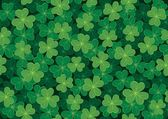 Seamless Clover Pattern — Stockvektor