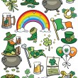 Saint Patrick's Day Elements — Stok Vektör