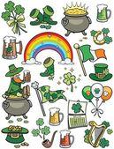 Saint Patrick's Day Elements — Stock Vector