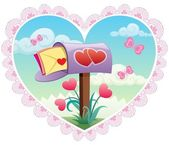 Love Mail — Stock Vector