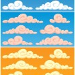 Clouds — Stock Vector #8674697