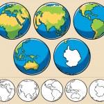 planeta Země — Stock vektor