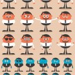 Character Emotions - Stock Vector