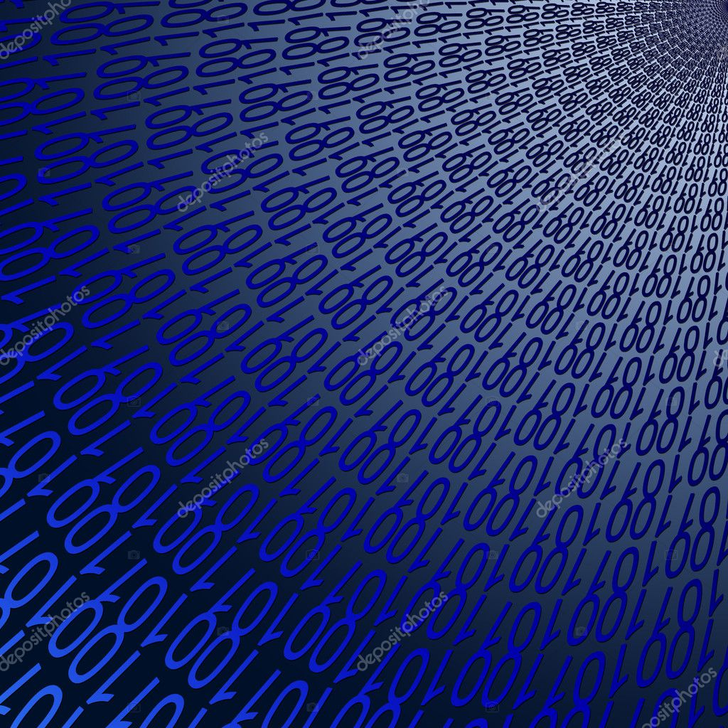 Abstract background binary black blue business code coding color communication computer concept design digital electronic generated global glowing graphic information internet — Zdjęcie stockowe #10403303