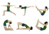Yoga series 3 — Stock Photo
