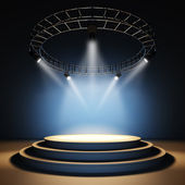 Empty stage. — Foto Stock