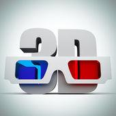 3d-очки — Стоковое фото