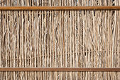 Dry wooden fence — Stock Photo