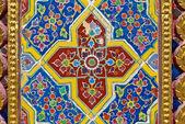Temple wall pattern — Стоковое фото