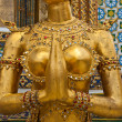 Stock Photo: Female Garudmid section in Grand Palace Bangkok Thailand