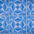 Blue ceramic tile — Stock Photo #8198801