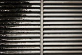 Dirty ventilation shaft — Stock Photo