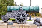 Russian Tsar cannon — Stock Photo