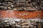 砖墙背景 — 图库照片