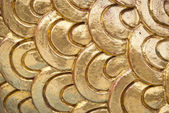 Golden dragon scale — Stock Photo