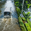 Bangkok worst flood in 2011 — Lizenzfreies Foto